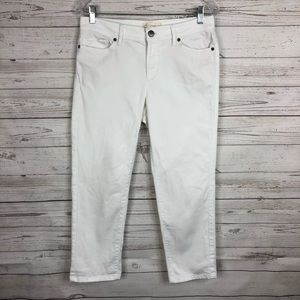 J. Jill Authentic Fit Whit Cropped Jeans